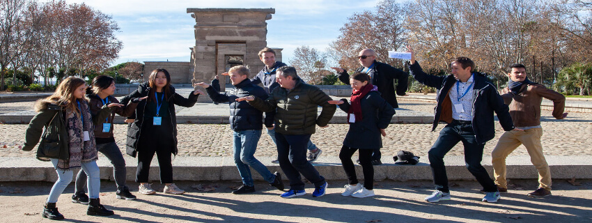 Team building activities in Madrid, Spain
