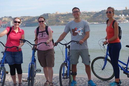 Lisbon - Biking Along the River Tejo
