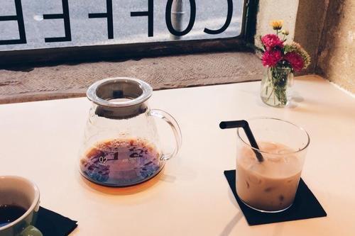 Lisbon - Ice Coffee at Fábrica