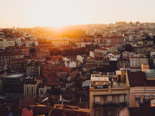 Lisbon - Miradouro da Senhora do Monte