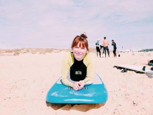 Lisbon - Surfing at Caparica Beach