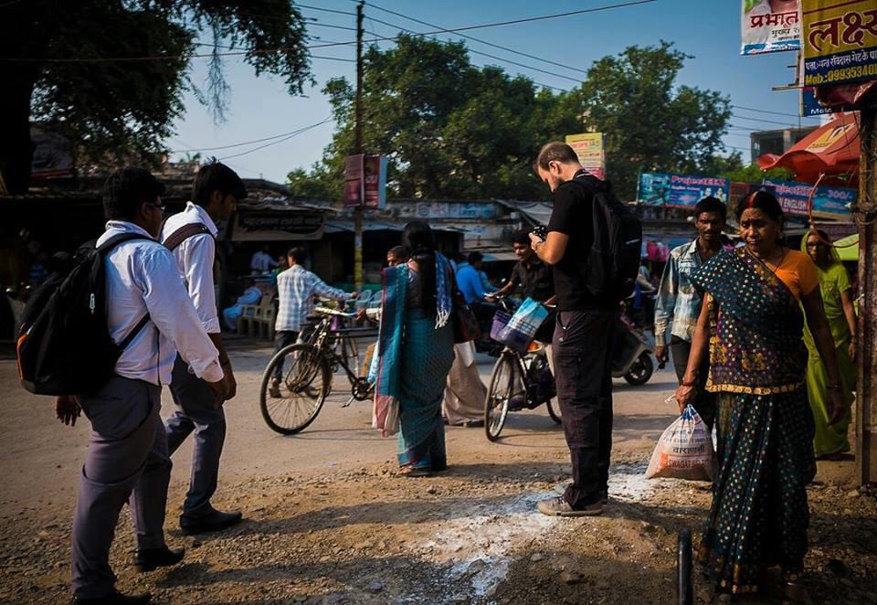 Matthew Esterhuizen in India