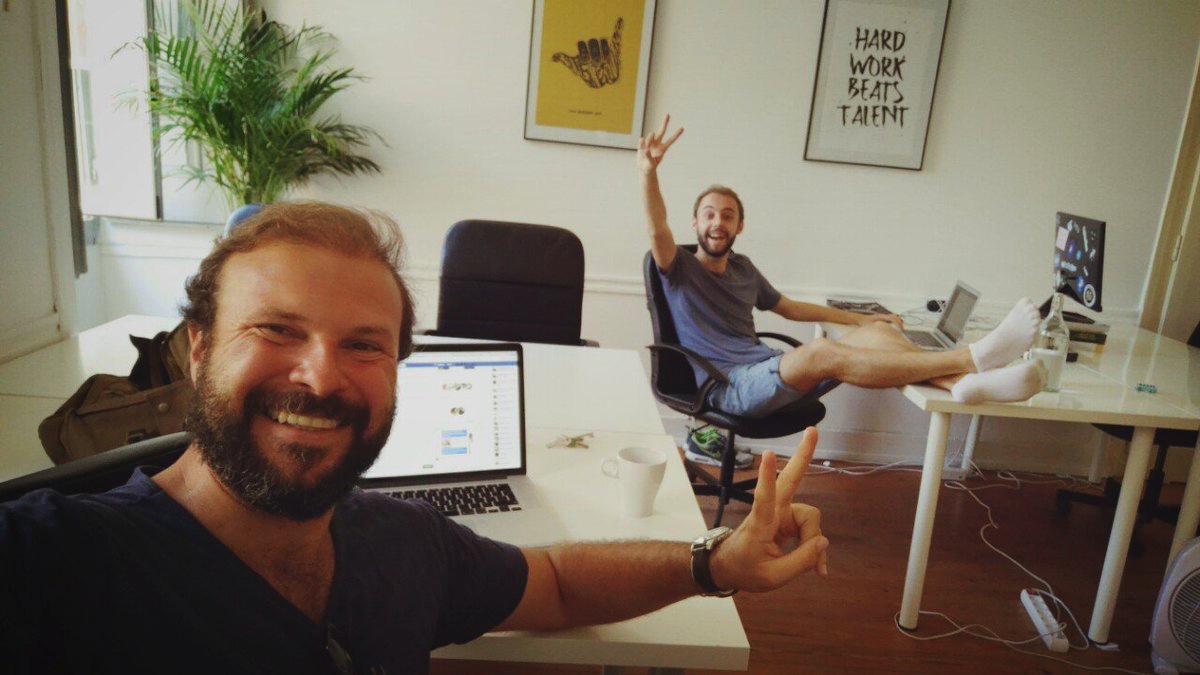 Matthew Esterhuizen in Surf Office Lisbon