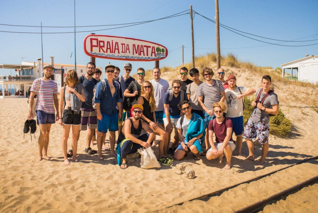 Team building activities - Praia da Mata, Lisbon