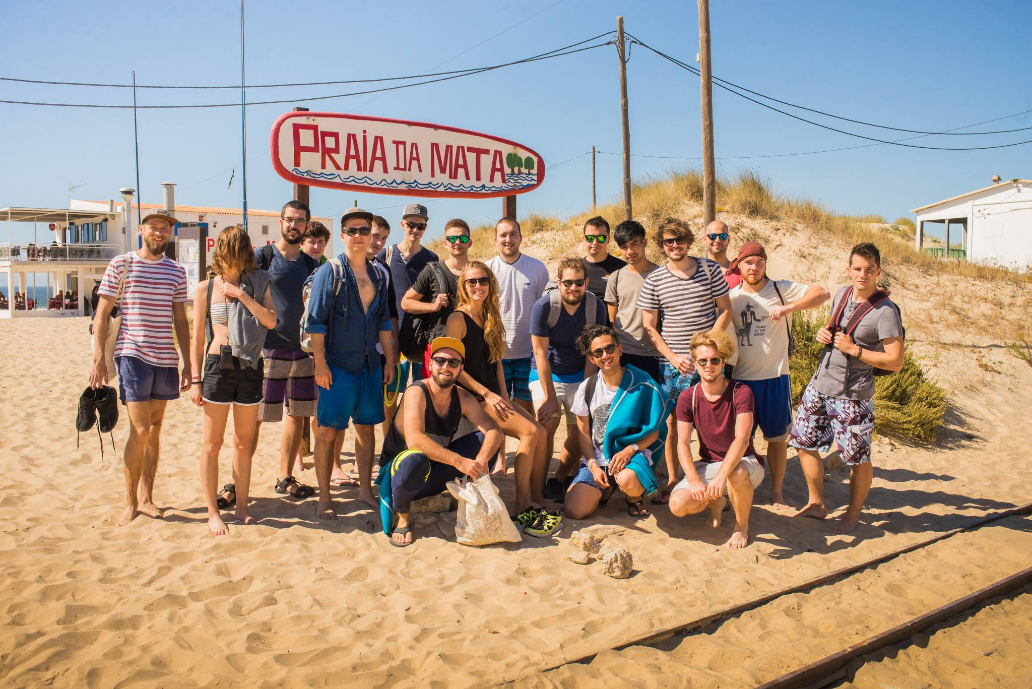 Team building activities - Praia da Mata, Lisbon