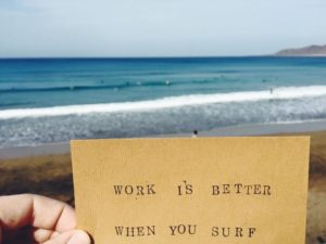 Surf Office Gran Canaria - Work is Better When You Surf